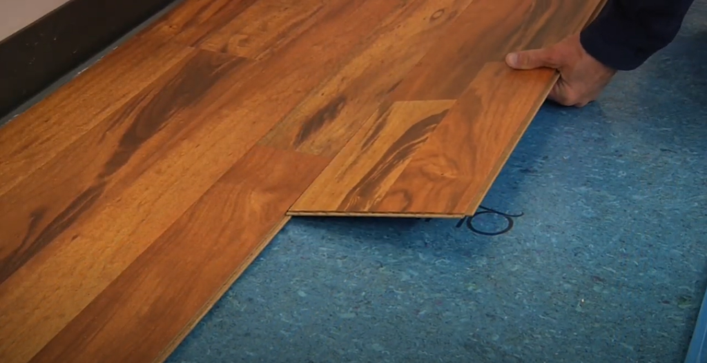 Install your Flooring