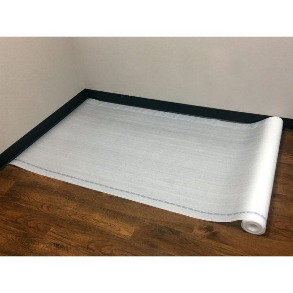 Duo Foam Standard Foam Underlayment Laid Out