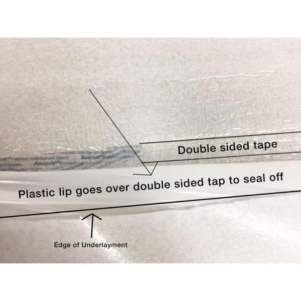 Duo Foam Standard Foam Underlayment Seal