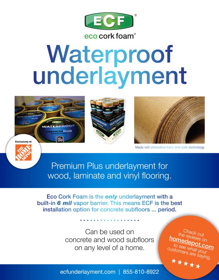 Eco Cork Foam Underlayment Product Brochure