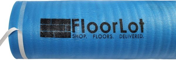 FloorLot 3mm Laminate Flooring Vapor Barrier Underlayment Adhesive