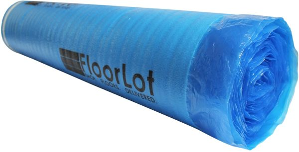 FloorLot 3mm Laminate Flooring Vapor Barrier Underlayment Roll