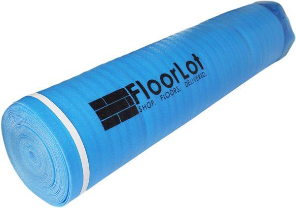 FloorLot 3mm Laminate Flooring Vapor Barrier Underlayment Roll Two