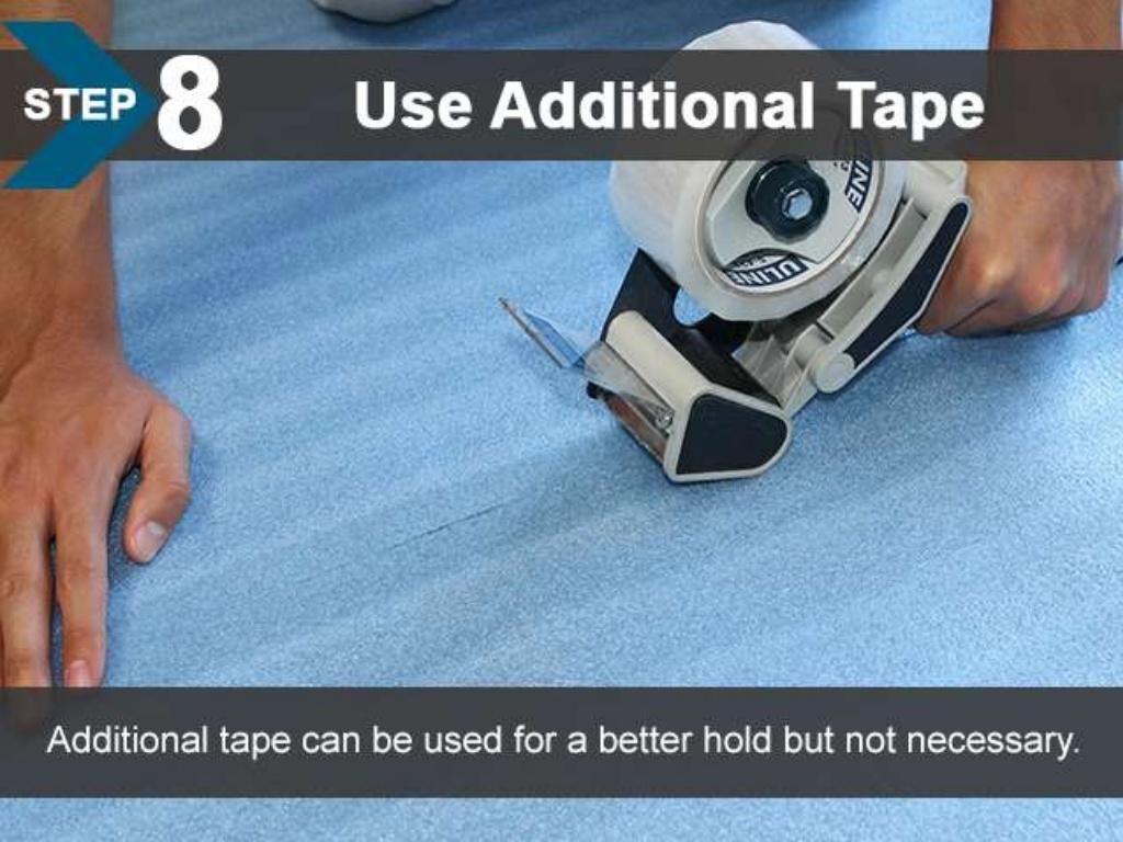 FloorLot Blue 3in1 Vapor Barrier Underlayment Installation Guide 11