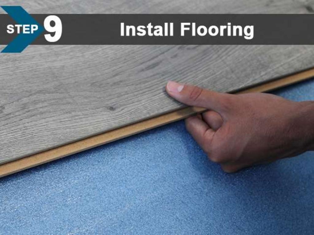 FloorLot Blue 3in1 Vapor Barrier Underlayment Installation Guide 12