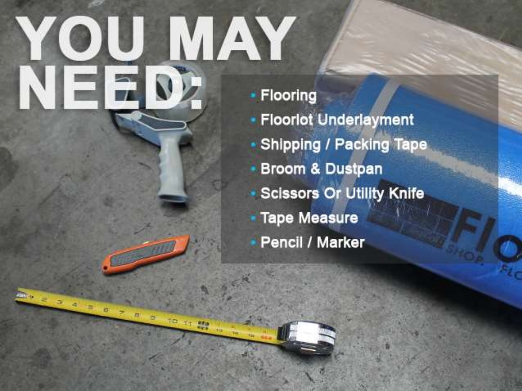 FloorLot Blue 3in1 Vapor Barrier Underlayment Installation Guide 2