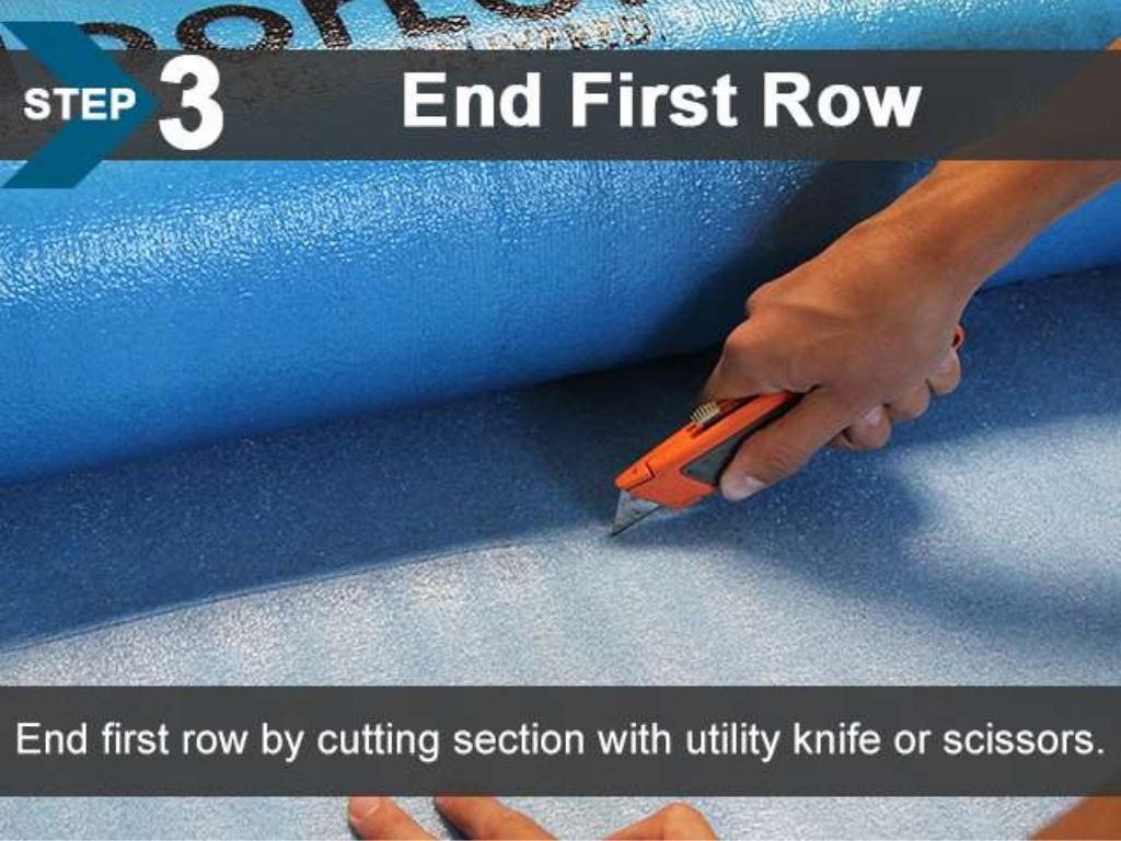 FloorLot Blue 3in1 Vapor Barrier Underlayment Installation Guide 6