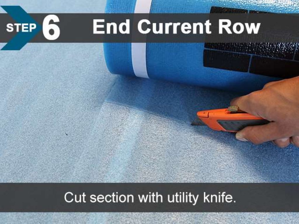 FloorLot Blue 3in1 Vapor Barrier Underlayment Installation Guide 9