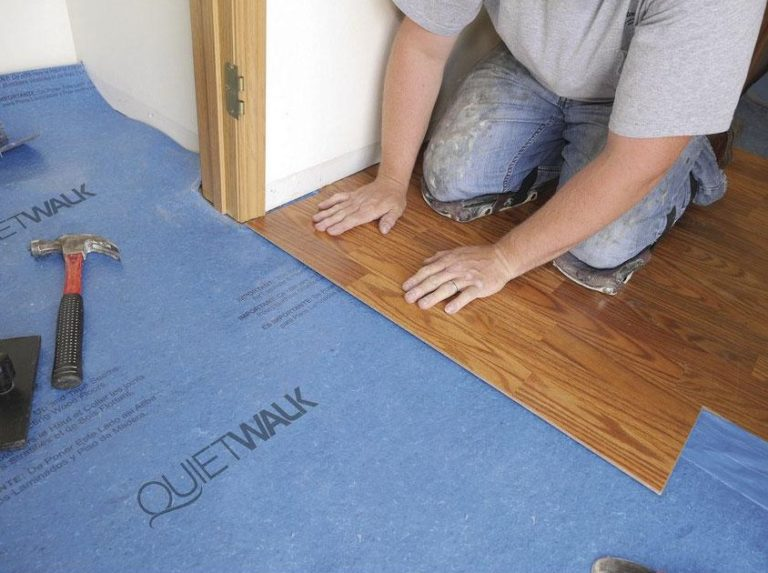How To Install Underlayment Featured