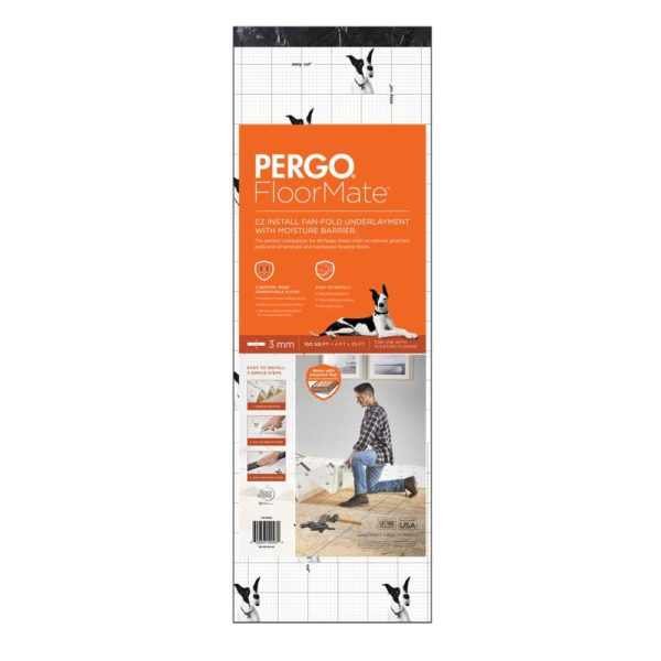 Pergo Floormate Premium Foam Underlayment