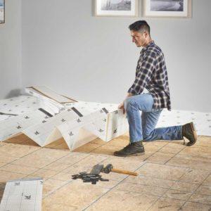 Pergo Floormate Premium Foam Underlayment Install