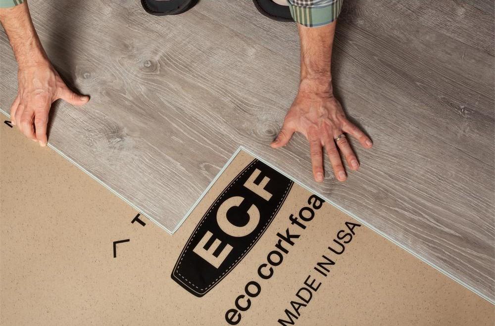 Eco Cork Foam Underlayment Installation